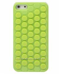 Чехол Bubble Wrap салатовый iPhone 5-5S