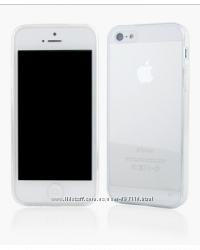 Чехол Silicon 0. 3mm для iPhone 5-5S