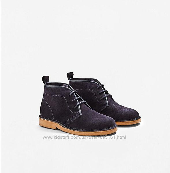 Замшеві черевики Mango, розмір 33, 21 см