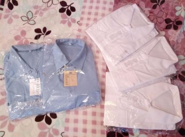 28e969d8231 Новые рубашки с длинным и коротким рукавом форменные большой размер ...