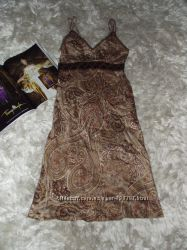 Красивое платье в турецкий огурец