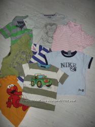 Фирменные футболки на 4-5 лет