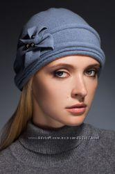 VEER-MAR зимняя шапка с элегантным бантом шерсть