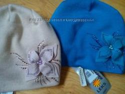 Тёплые шапульки со стразами Сваровски, супер качество от ТМ Leks