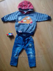 Комплет или по отдельности Толстовка, штаны, джинсы от НексNext 86-92
