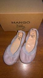 Продам балеточки Mango 24 размер на принцессу.