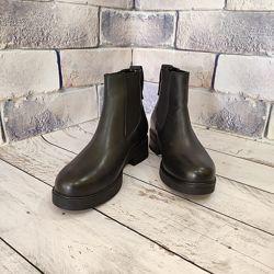 Кожаные женские ботинки. Красивые и удобные, 36-40 р.