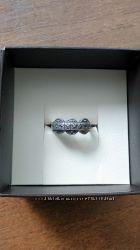 Продам серебряное кольцо 925 пробы в винтажном стиле с марказитом.