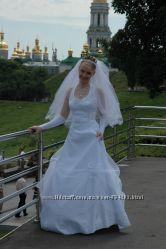 Продам очень красивое свадебное платье.