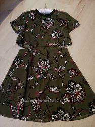 Тоpshop платье хаки
