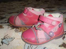 Демисезонные ботинки Сalorie Калория состояние отличное 15 cм