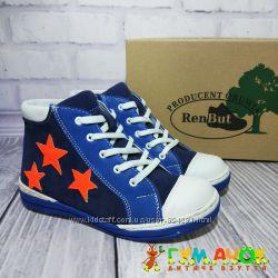RenBut Stars Кожаные ботинки для мальчика и для девочки 31-36 размеры