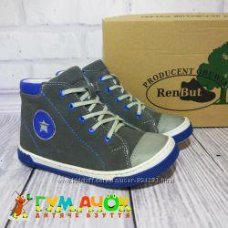 RenBut Star Кожаные ботинки для мальчика 27, 29, 31, 33, 35  размеры