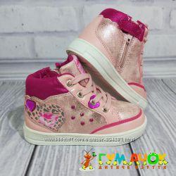 Ботинки American Club Pink 21, 22, 24 размеры для девочки