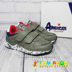 Кроссовки для Мальчика 27-36 размеры American Club Польша детские