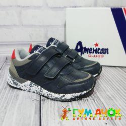 Кроссовки для Мальчика и Девочки 32-36 размеры American Club Польша детские