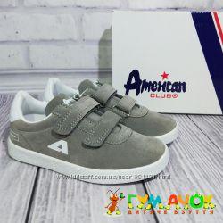 Кроссовки для Мальчика 27-31 размеры American Club Польша детские
