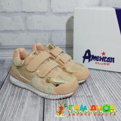 Кроссовки для Девочки 27-31 размеры American Club Польша детские