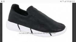 черные текстильные кроссовки для девочек 32-37р.