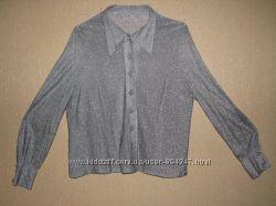 Нарядная блуза цвета металлик Готовимся к праздникам