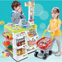 Супермаркет магазин с тележкой 668-03, 668-01