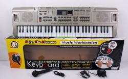 Пианино синтезатор с USB 61 клавиша MQ 816. Работает от батареек
