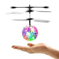 Светящийся летающий шар. Управление от ладони.
