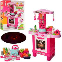 Кухня детская с посудкой, звуком и светом 008-939, 87см