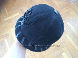 Шляпка зимняя из натуральной замши р. 55-58 ТМ Российский стиль