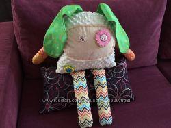 Подушка-игрушка handmade хэндмэйд Зайка