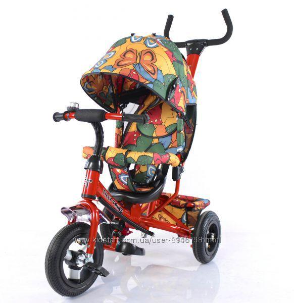 Трехколесный велосипед Tilly Trike T-351-7 надувные колеса