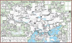 Карта Украины. Раскраска с наклейками