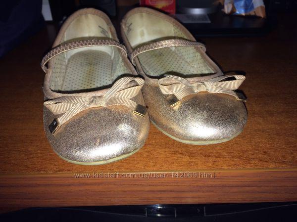 Наши удобные туфельки 13 размера