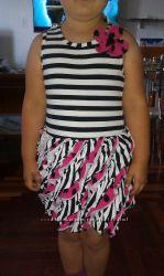 Продам красивые летние платья на 4-6 лет