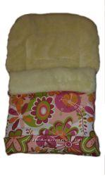 Конверт, спальный мешок для детей на овчине Люкс  аналог 20 Womar