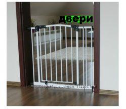 Детские ворота безопасности на лестницу и проемы