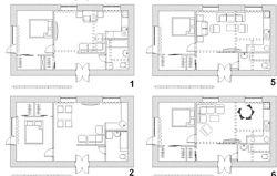 Дизайн интерьера. Перепланировка квартиры.