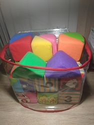 Мягкие кубики K&acutes kids