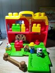 Складной домик-ферма Mega Bloks