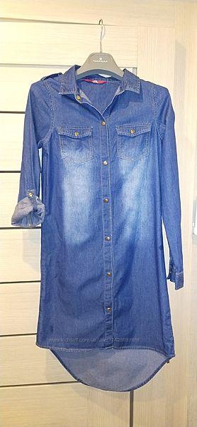 Джинсовое платье YD