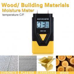 DM1100 - Влагомер древесины и бумаги игольчатый