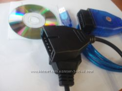 Daewoo GM Lanos Nubira адаптер диагностический FTDI или CH340 KL  ПО sof