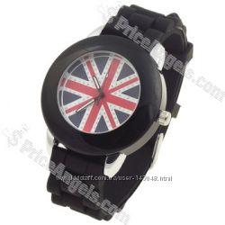 Часы стильные UK Flag Британский флаг
