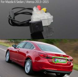 Камера заднего вида Mazda 6 2014.