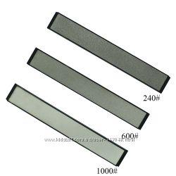 Камни 3 шт точильные алмазные серебряные 240 600 1000