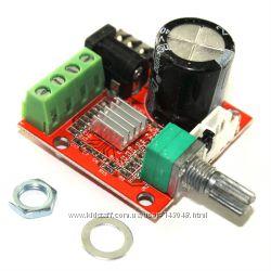Cтерео усилитель 2X10Вт 12В PAM8610 Stereo D класс Hi-Fi