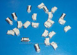 Кнопка тактовая 3х6х4. 3мм 2Pin, микропереключатель SMD 2 контакта