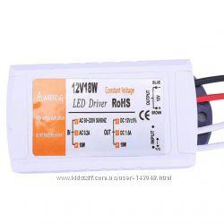 Блок питания БП для LED лент 220V - 12V 1. 5A 18W