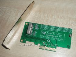 Адаптер PCIe X4 - Apple SSD MacBook Air A1465 ME253 MD878 A1398 A1502