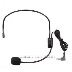 Микрофон головной с ободком, проводной с разъемом 3, 5 мм